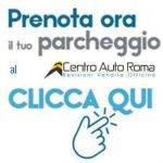 pulsante prenota parcheggio centro auto roma